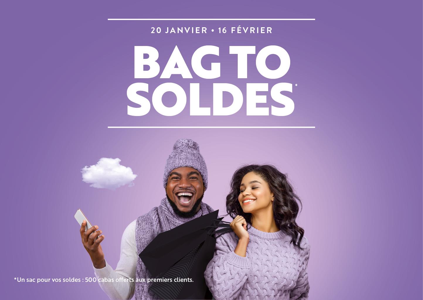 BAG TO SOLDES